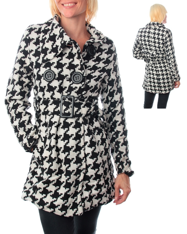 Plus Size Houndstooth Ombre Coat has been successfully added to the Registry -Qty: If this is not correct, please go to the
